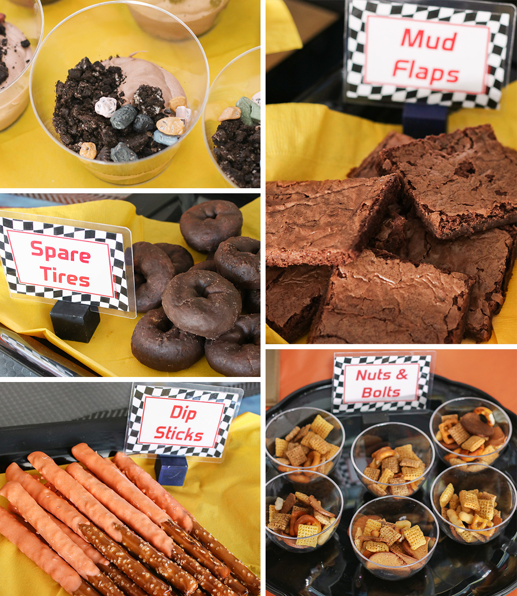 Monster Truck Party Food Ideas