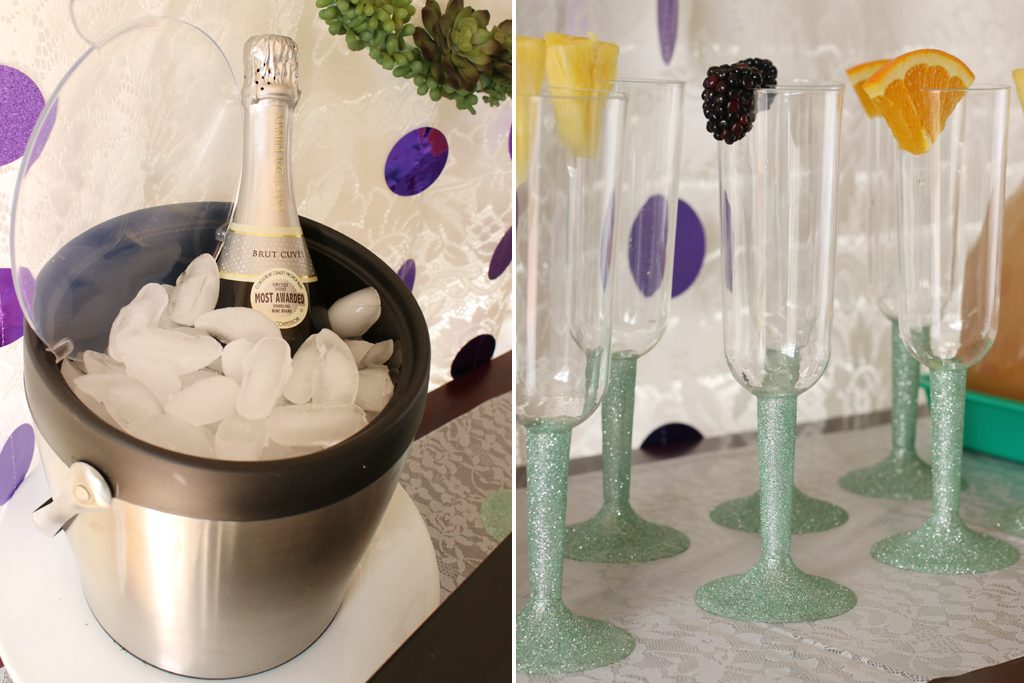 Mother's Day Brunch Mimosa Bar Ideas