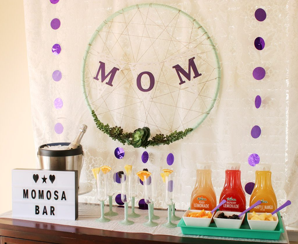 Mother's Day Brunch Mimosa Bar