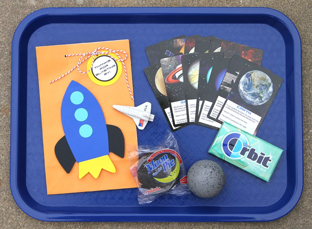 Outer Space Birthday Party Favors
