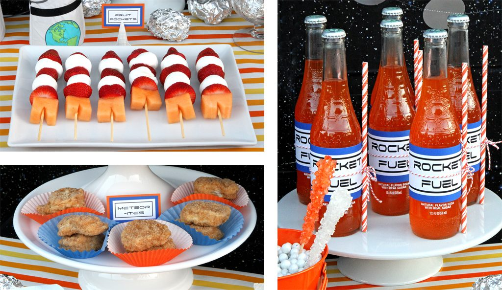Outer Space Birthday Party Food Ideas