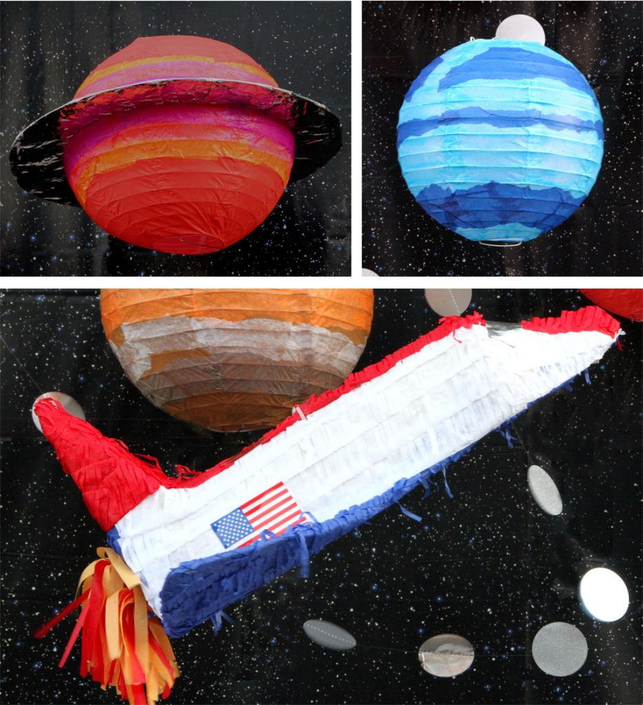 Outer Space Birthday Party Decoration Ideas 2