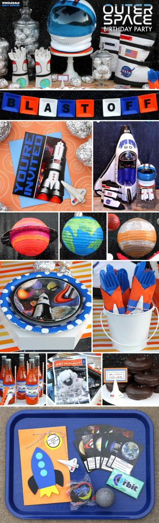 Outer Space Birthday Party Ideas Pinterest Guide