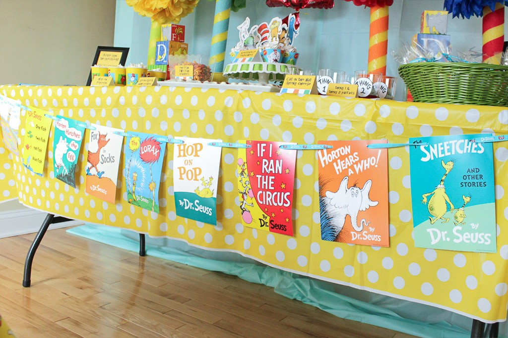 Dr. Seuss Birthday Party Decorations