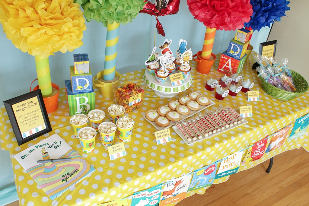 Dr. Seuss Birthday Party Food