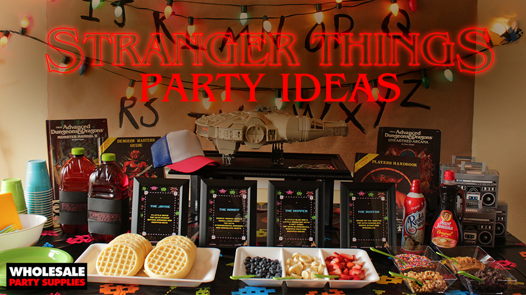 Stranger Things Party Idea