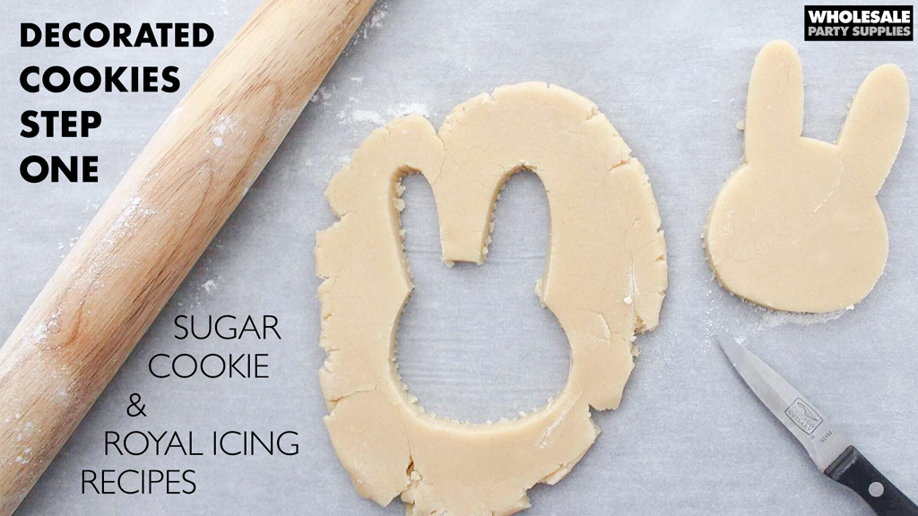 Sugar Cookie and Royal Icing Recipe