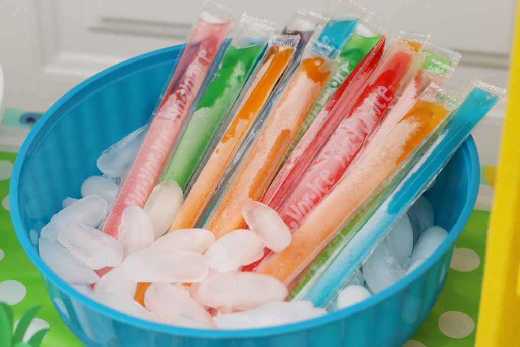 Summer Fruit Party Ice Pops