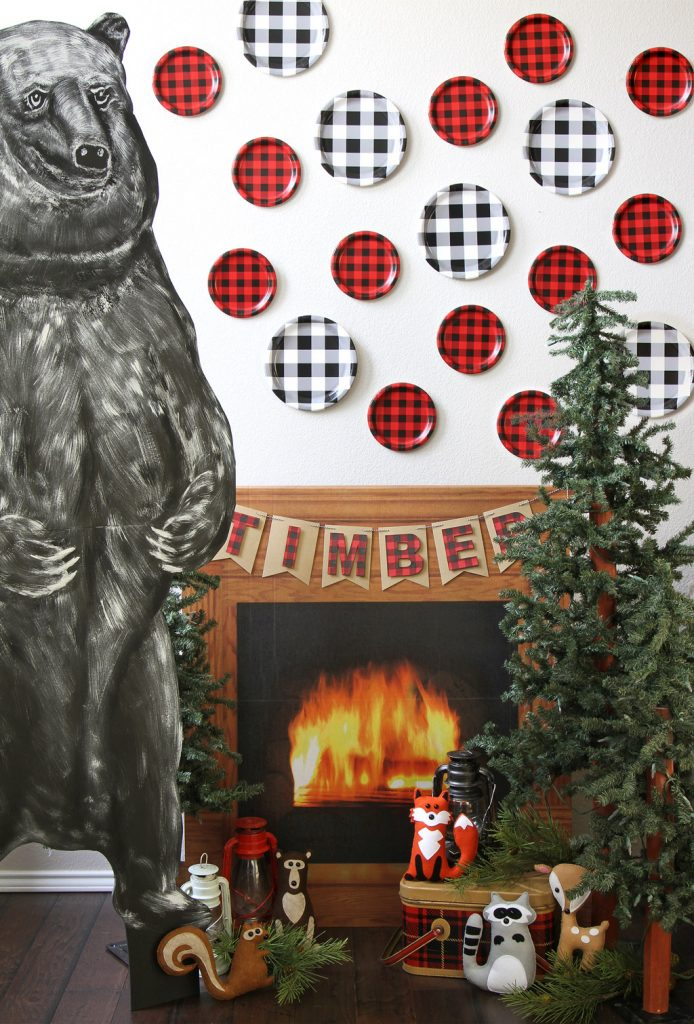 Lumberjack Plaid Party Photo Booth