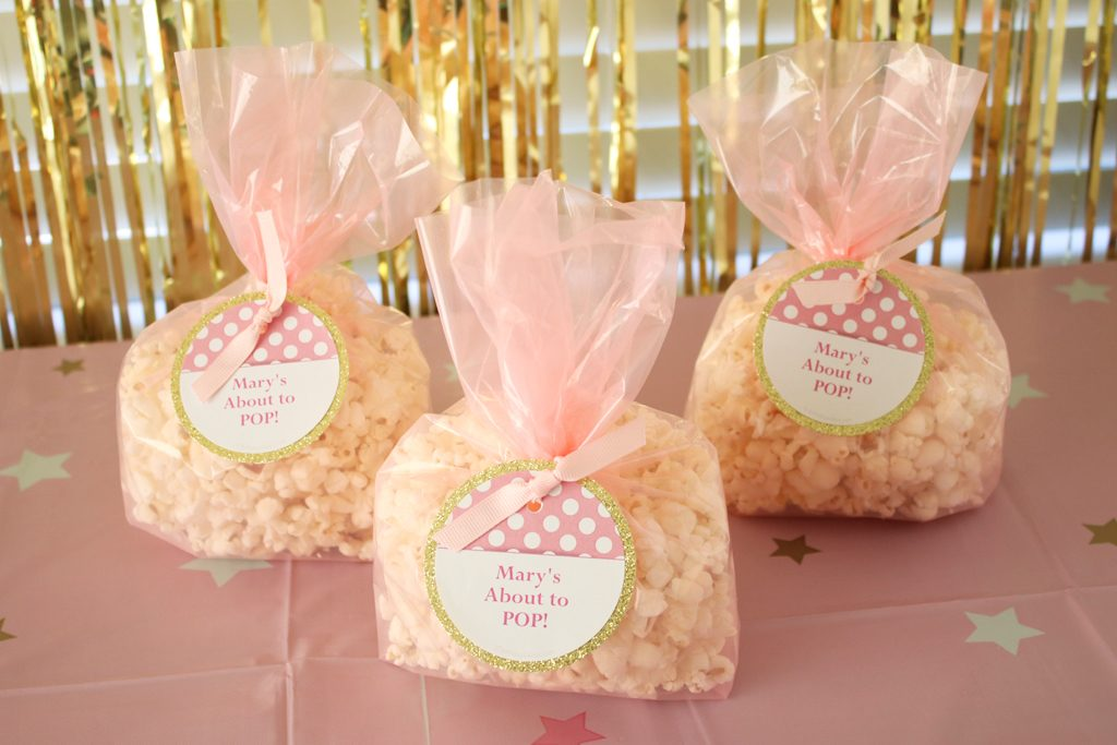 Twinkle Twinkle Pink Baby Shower Favors