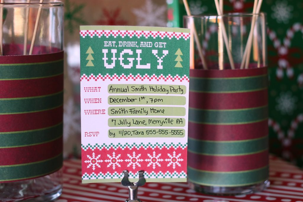 Ugly Sweater Holiday Party Ideas