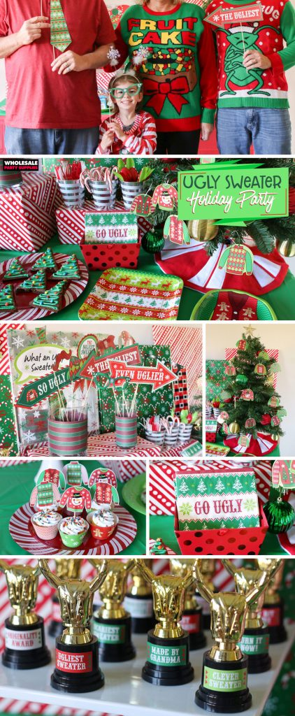 Ugly Sweater Holiday Party Ideas Pinterest Guide