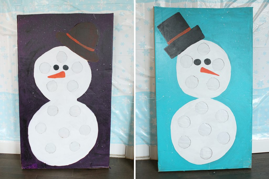 DIY Winter Prize Punch Game Tutorial Step 8